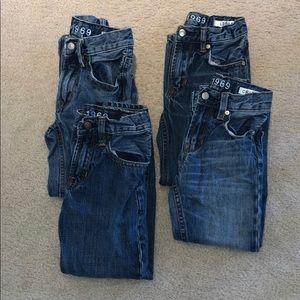 GAP BOYS JEANS (4 pair) 👖